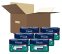 Picture of Prevail® PM Overnight Extended Use Briefs Medium (Case of 96) Prevail Diapers, Prevail Medium diapers, Overnight Briefs