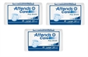 Picture of Attends® Adult Briefs (Large)(Case of 72) aka Large Adult Diapers, Large Attends Briefs, Plastic Backed Diapers, Plastic Back Briefs