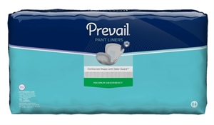 "Picture of Prevail® Extended Use Pant Liner 13""x 28"" (Pack of 16) aka Night time Pads, Bladder Control Pads, Incontinence Pads"