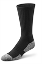 Picture of Dr Comfort Diabetic Crew Socks (Black)(X-Large) Bell Horn 11710 replacement softstep XL diabetic socks