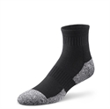 Picture of Dr Comfort Diabetic Ankle Socks (Small)(Black)(pair) aka Diabetic Foot Care