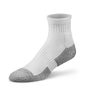 Picture of Dr Comfort Diabetic Ankle Socks (Large)(White)(pair) aka Diabetic Foot Care