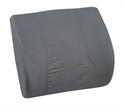 "Picture of Memory Foam Lumbar Cushion with Grey Cover (14"" x 13"") aka Back Cushion, DMI 555-7921-0300, Lumbar Support, Chair Cushion, Back Pillow, Car Lumbar Support Cushion, Clearance"