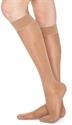 Picture of Thera-Lite Fashion Stockings 15-20 mmHg (Medium)(Knee-High Closed-Toe)(Beige) aka Medium Compression Stockings, Knee High Support Stockings, 15-20 compression, Clearance